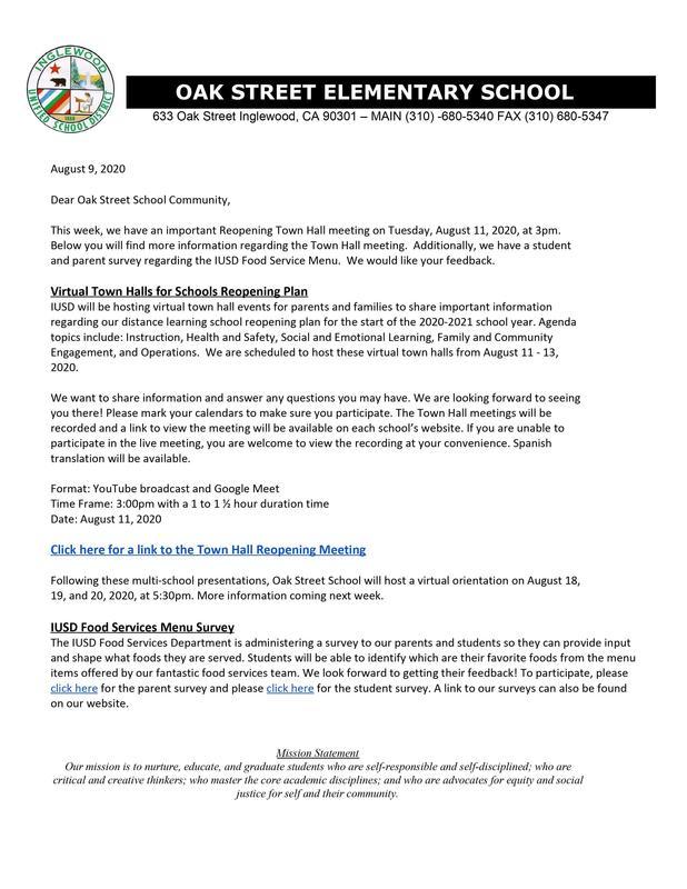 8-9-2020 - Weekly Messenger