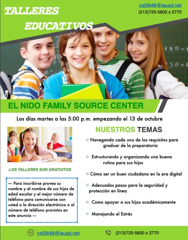Talleres Educativos Featured Photo
