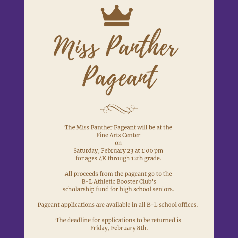 Miss Panther Pageant