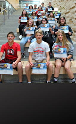 Picture of students of the month