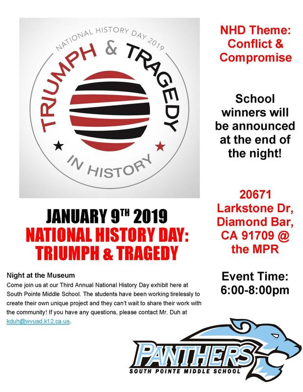 National History Day 2019 ~ Triumph & Tragedy In History, January 9th Featured Photo