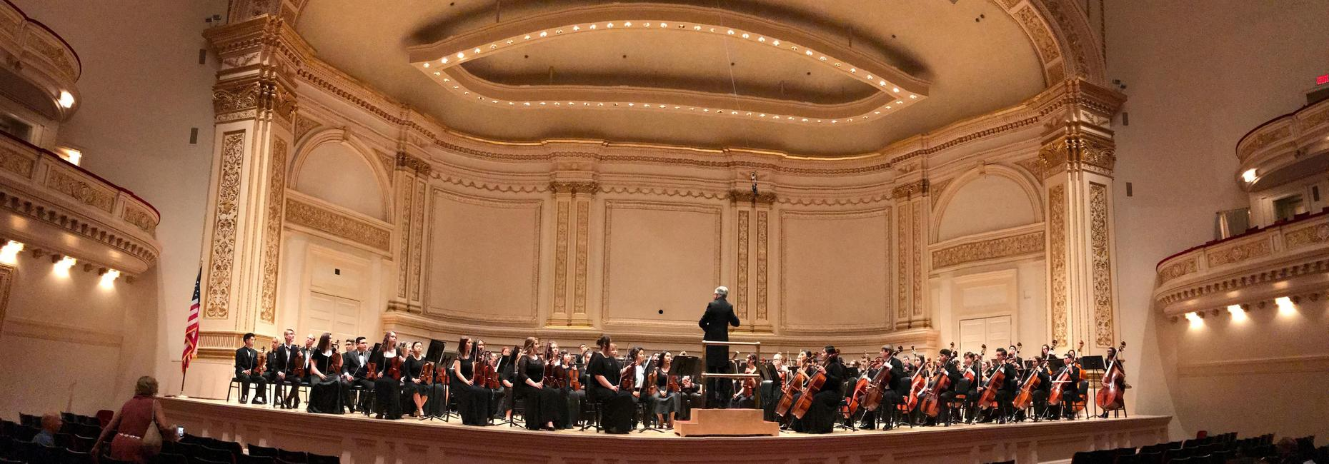 Orchestra at Carnegie Hall