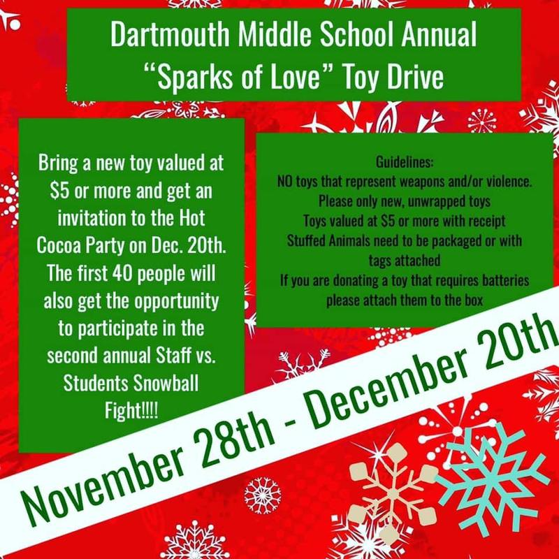 Sparks of Love Toy Drive Information