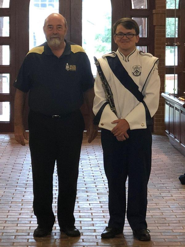 Junior Drum Major Named to All-State Band Featured Photo