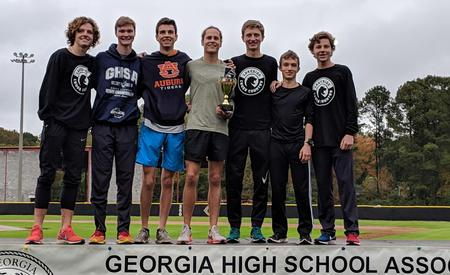 Boys Cross Country Team at the STATE Meet!