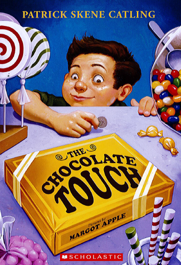 Picture of the book cover from Chocolate Touch
