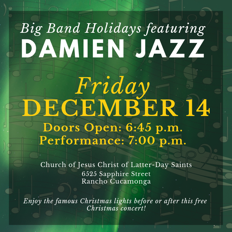 Jazz Ensemble to perform Christmas Concert Featured Photo