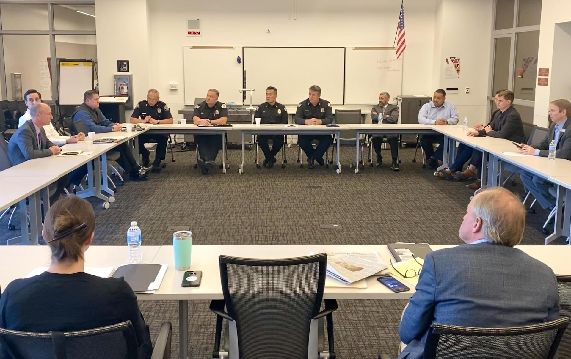 Meeting with AUSD and City Officials