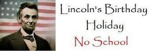 Lincoln's Birthday Observance