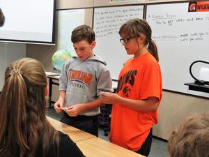 Students learn how ancient civilizations used bartering to get supplies they needed.
