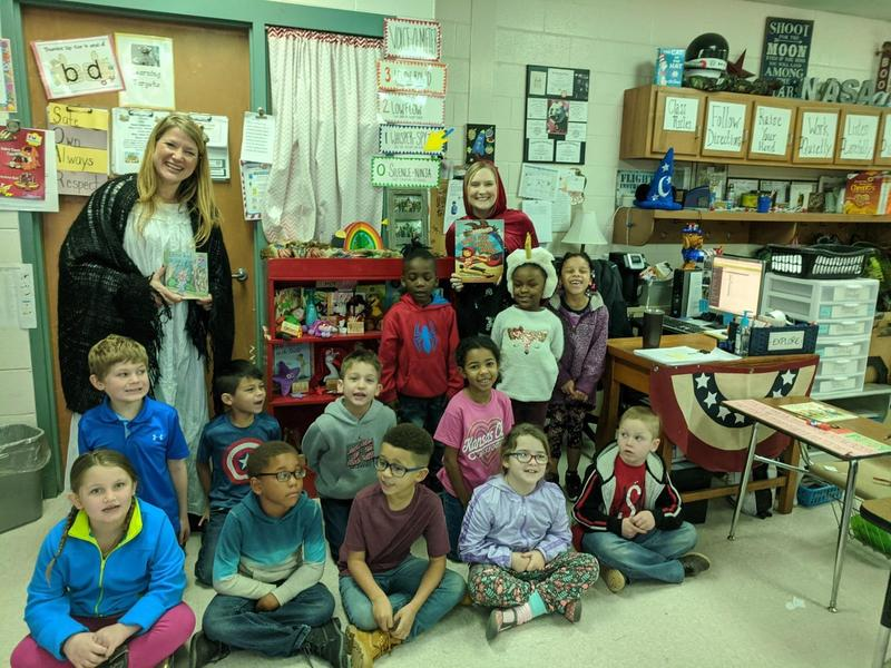 Little Red Riding Hood Visits Mrs. Rice's 1st Graders