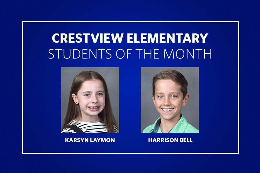 Crestview Students of the Month