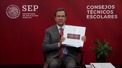 Anuncia Esteban Moctezuma simplificación de la evaluación en educación básica; ya no se evaluarán los clubes. Featured Photo