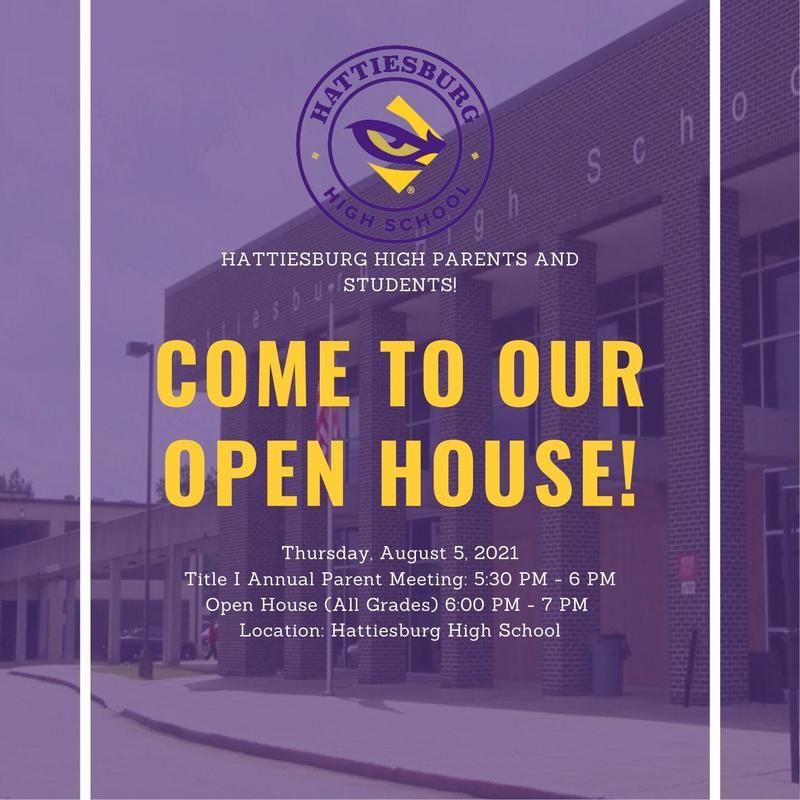 Hattiesburg High School Open House Featured Photo