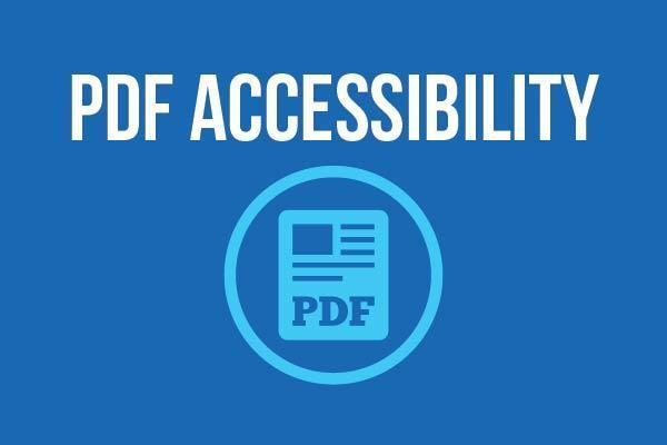 PDF Accessibility Logo
