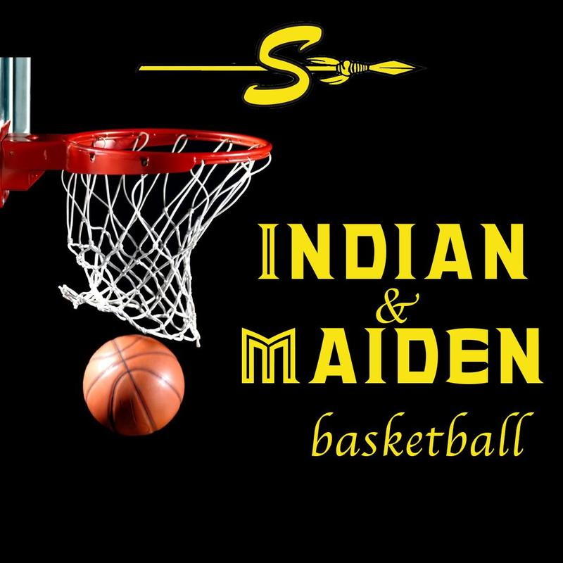 indian and maiden graphic