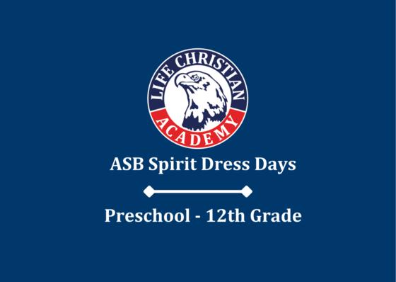 ASB Spirit Dress Days Featured Photo