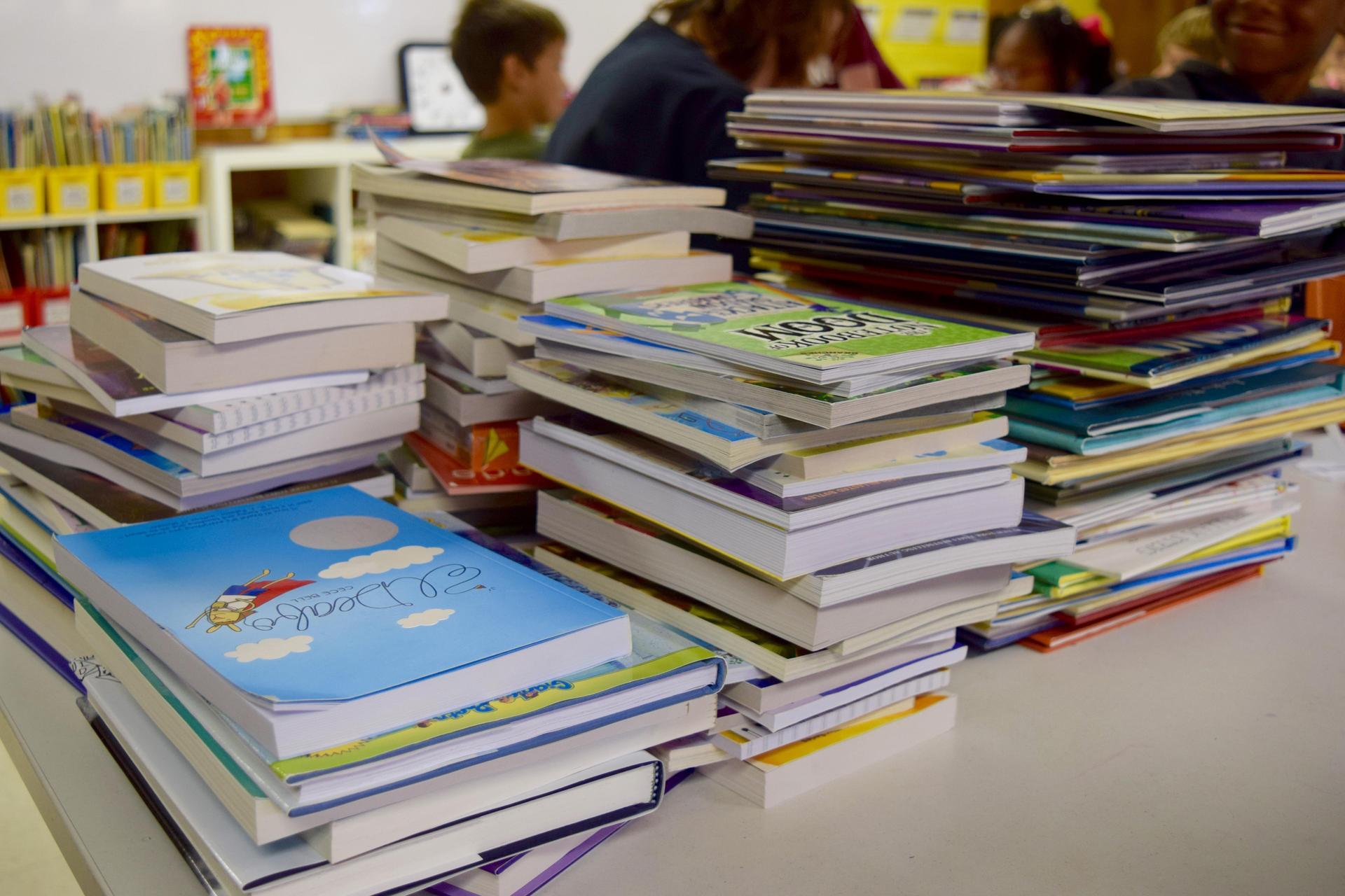 DonorsChoose books