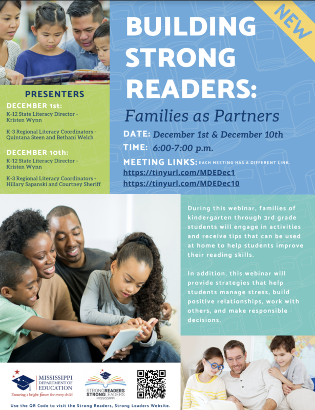 Building Strong Readers: Families as Partners Featured Photo