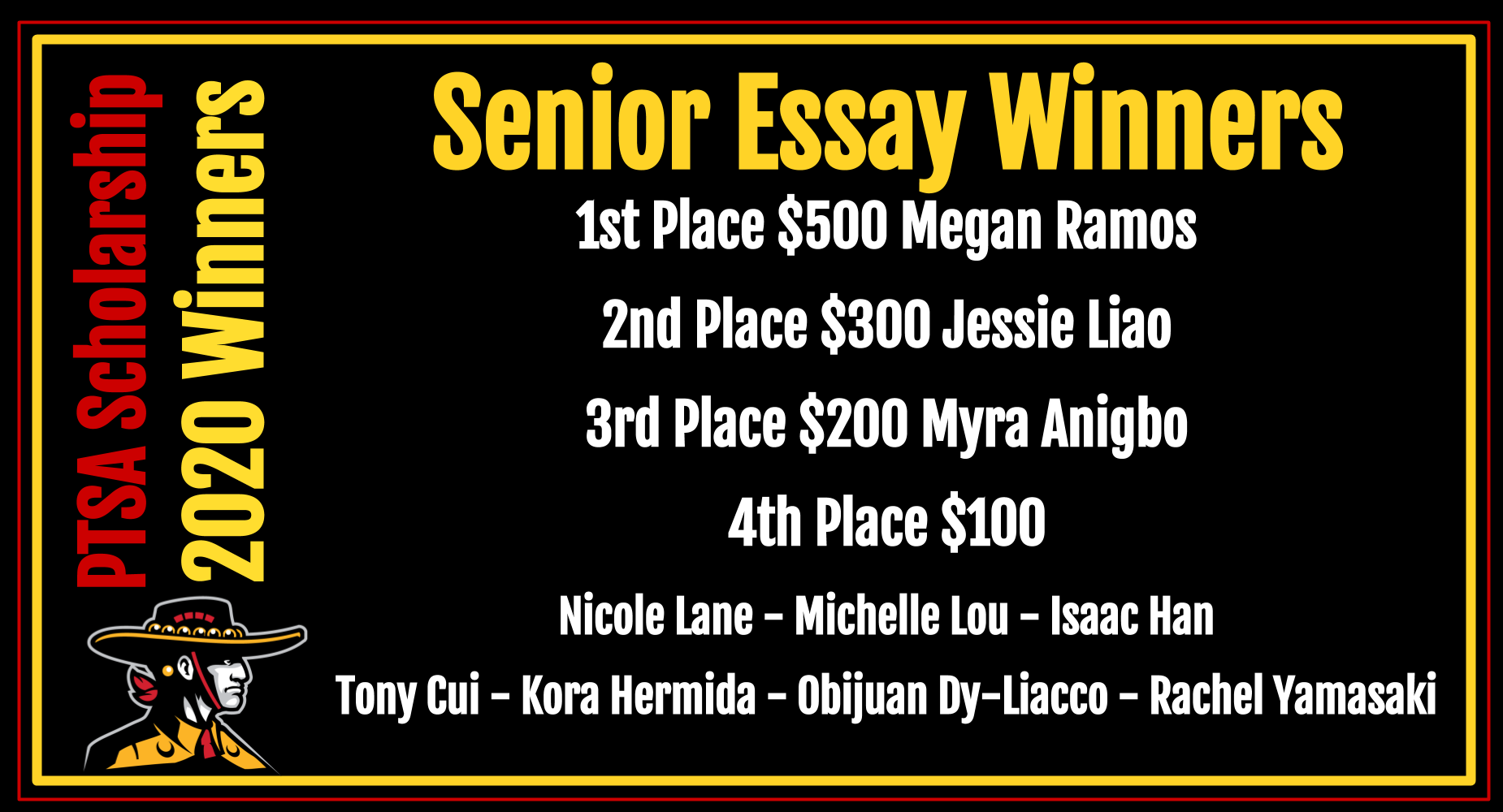 Senior Essay Winners