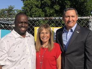 Thank you Pomona Mayor Tim Sandoval, Board Member Dr. Roberta Perlman and Garey High for Supporting Philly's #PBIS relaunch on September 12, 2019. We appreciate your support!! @GareyPUSD @PhiladelphPUSD @CityOfPomona #Proud2bePUSD #PomonaUnified