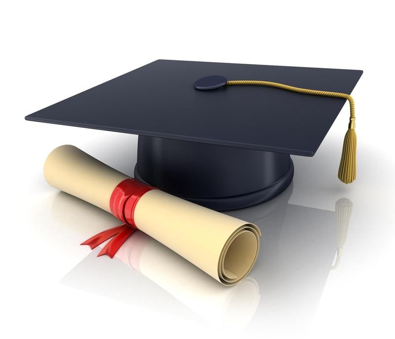 motorboard and diploma