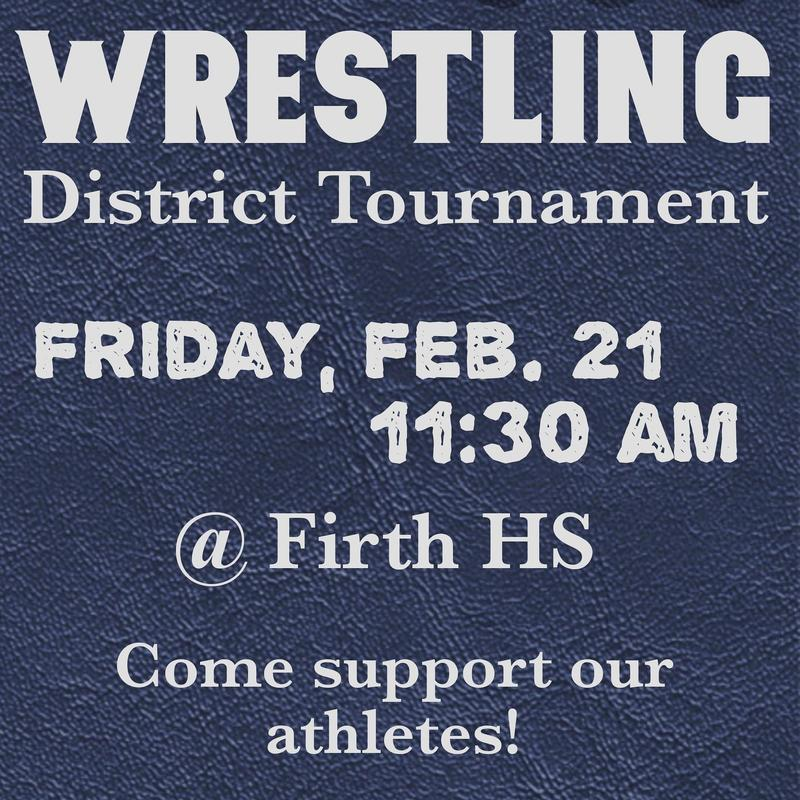 Wrestling District Tournament