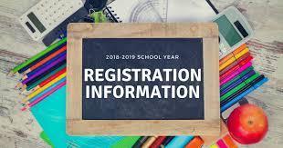 18-19 School Registration Information
