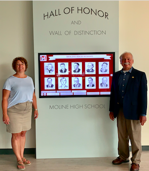 The MOLINE HIGH SCHOOL HALL of HONOR COMMITTEE Featured Photo