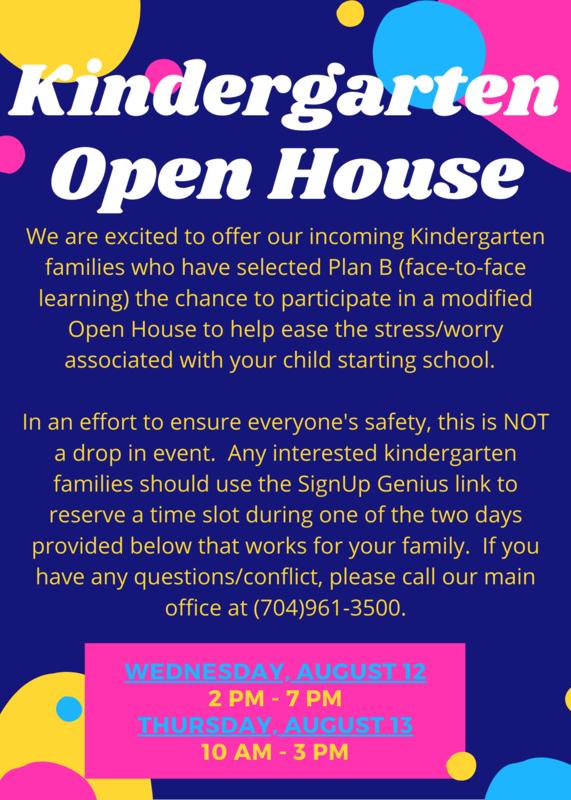 Kindergarten Open House Featured Photo
