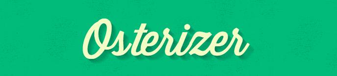 Oster Elementary School Osterizer Logo