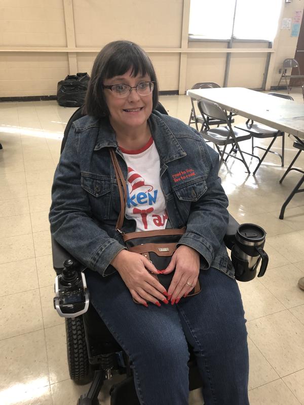 Mrs. Karen Butler, Librarian, Employee of the Month