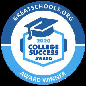 college success award logo