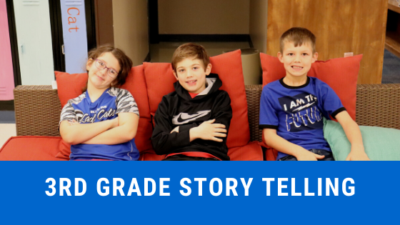 3rd grade storyelling