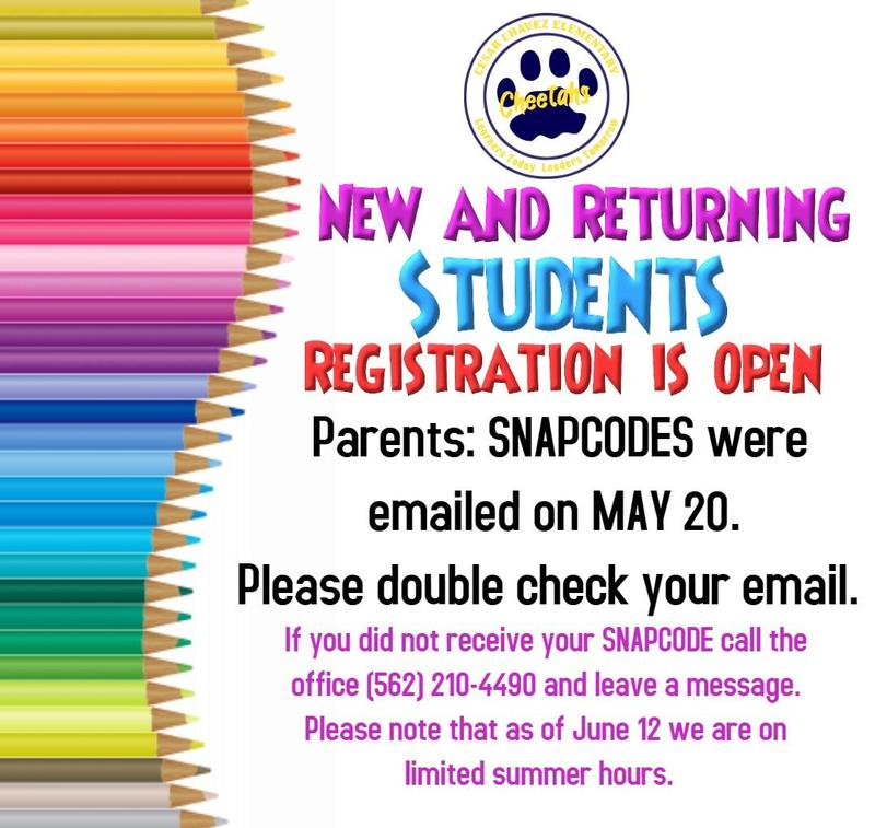 New & Returning Student Registration Featured Photo