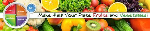 Half Your Plate - Fruits and Vegetables