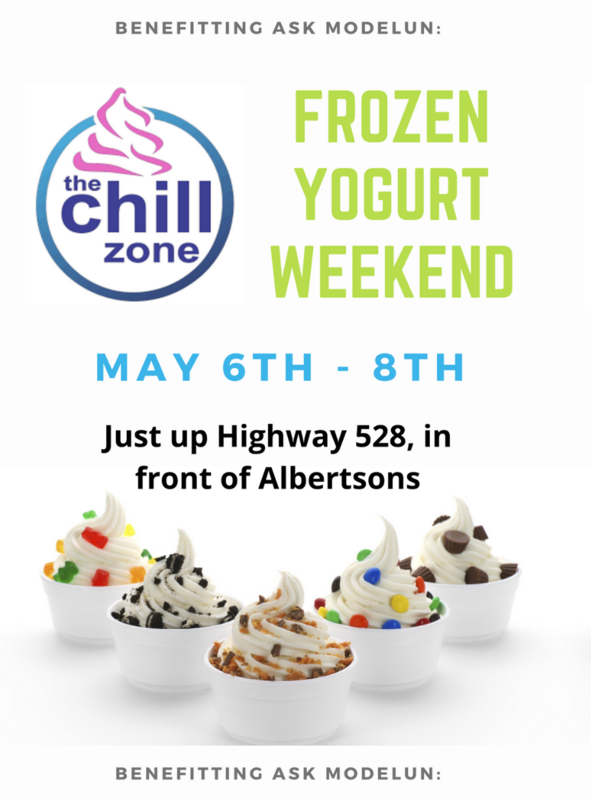 flyer for chill zone