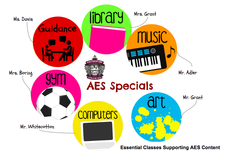 AES Specials - Physical Education