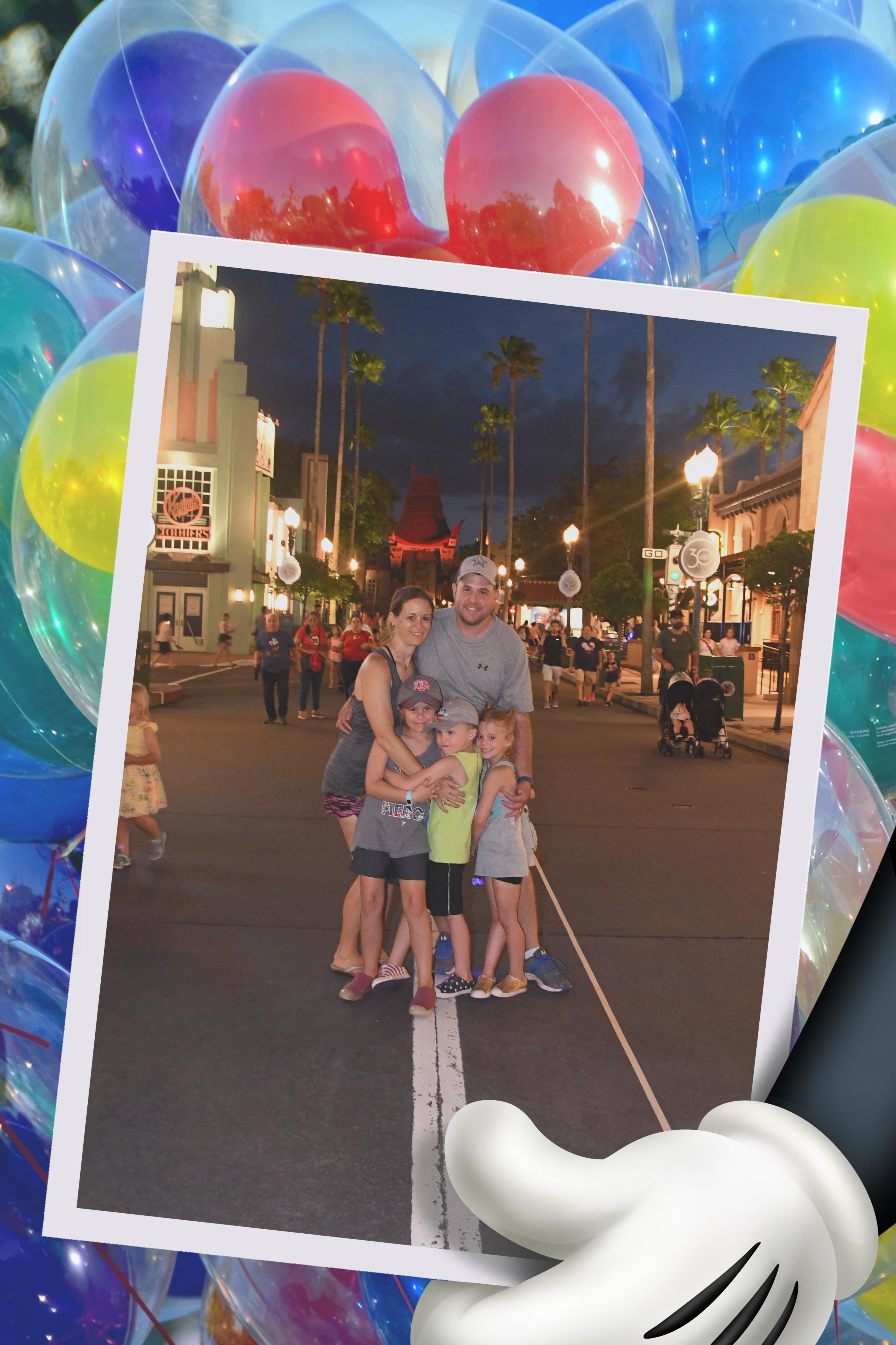Karsteter Family at Disney World