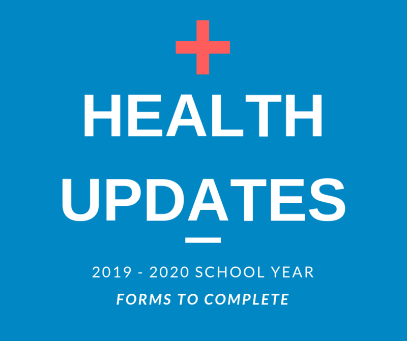 Health Forms Now Available Thumbnail Image