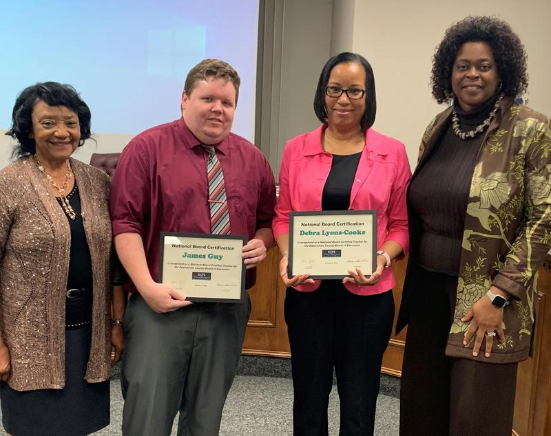 ECPS educators earn National Board Certification Featured Photo