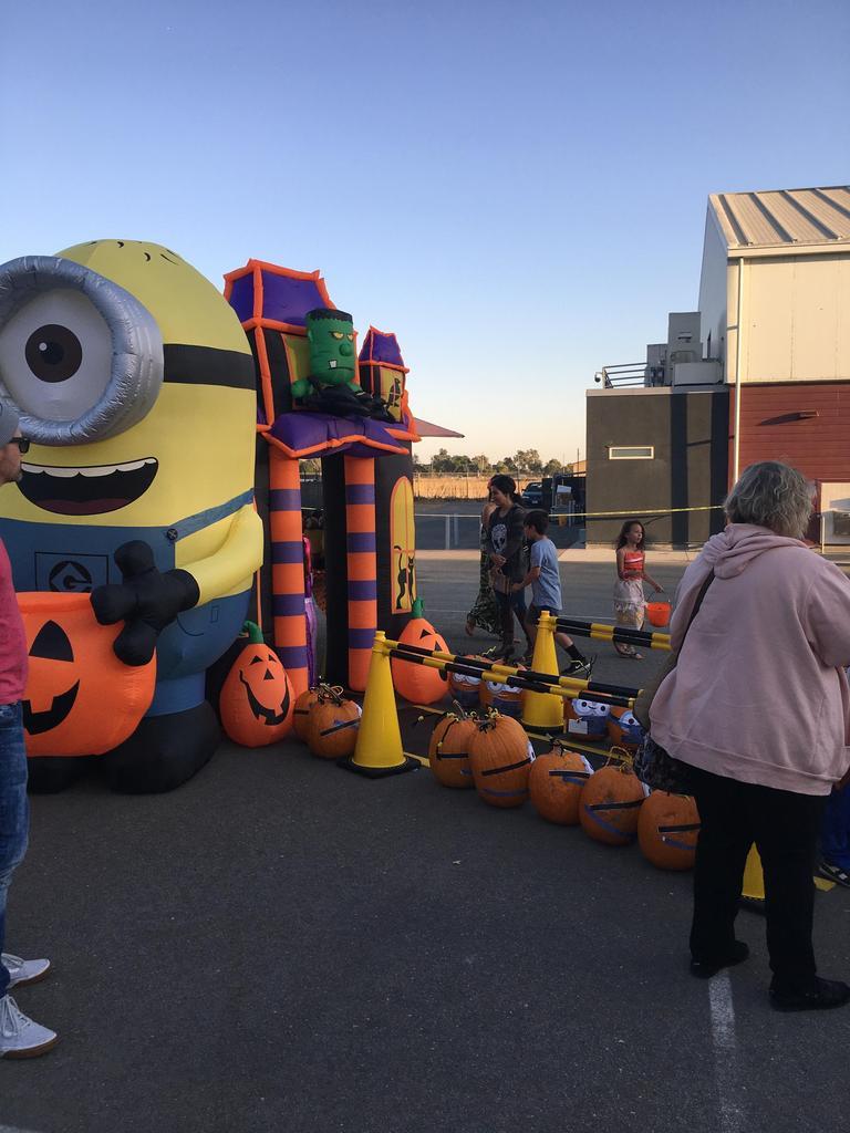 big inflatable minion