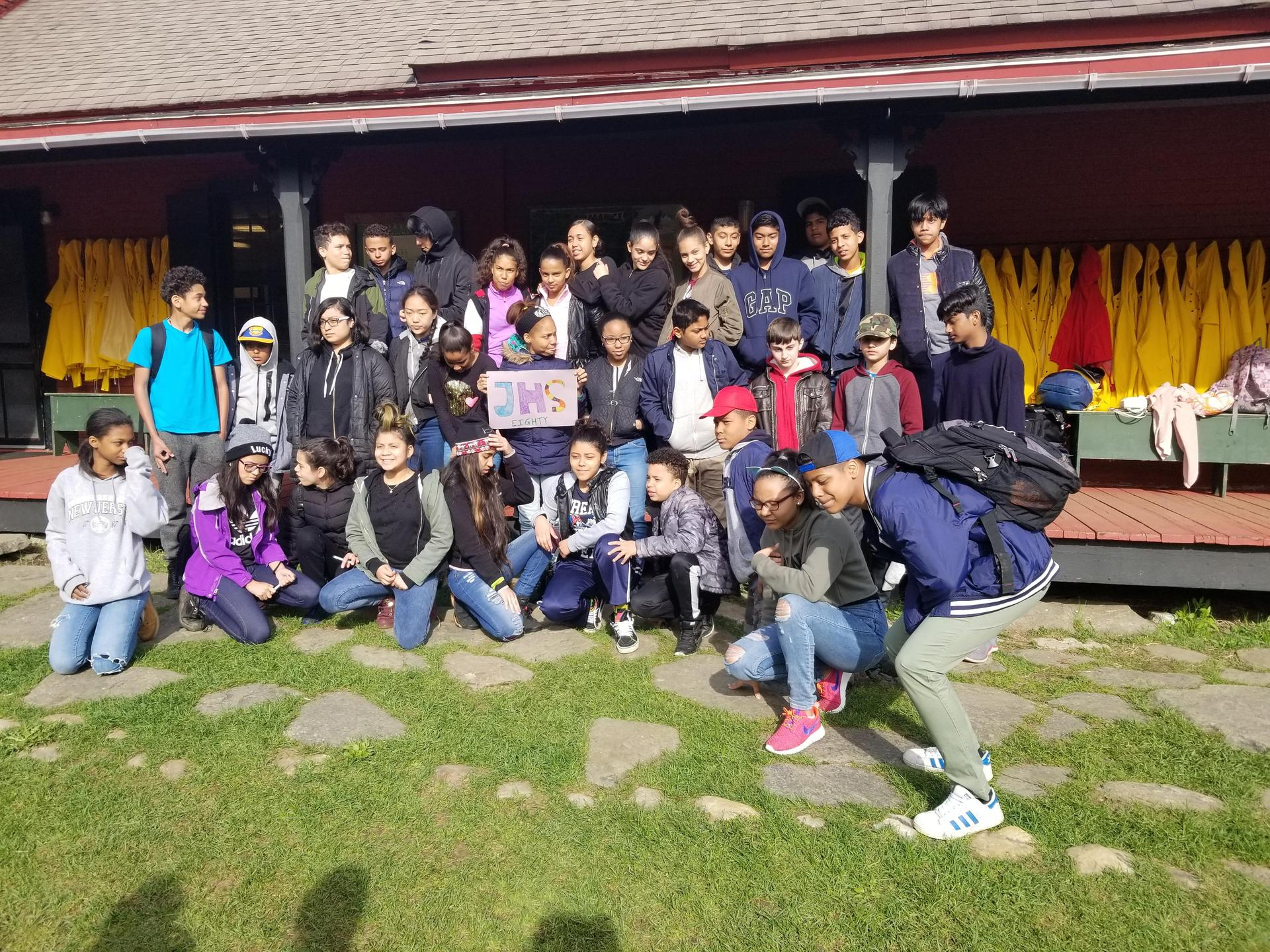 Spring 2018 - M.S. 80 Manice Education Center Camping Trip