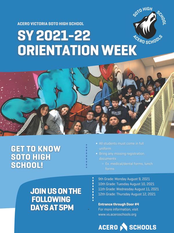 Soto Orientation Week