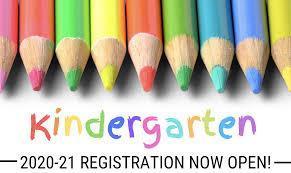 Kindergarten Registration for 2020 - 2021 Image