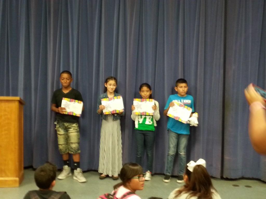 September 5th grade SoM awards