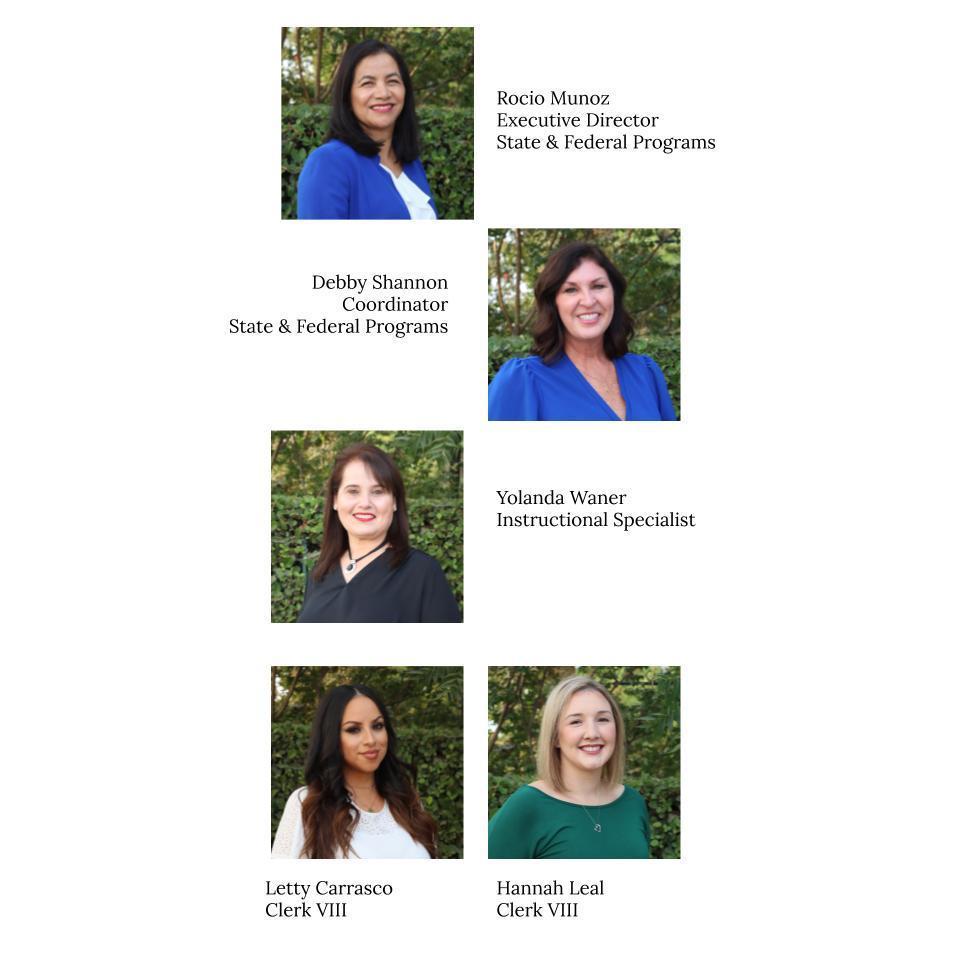 Picture of SFP Team: Rocio, Debby, Yolanda, Letty, & Hannah