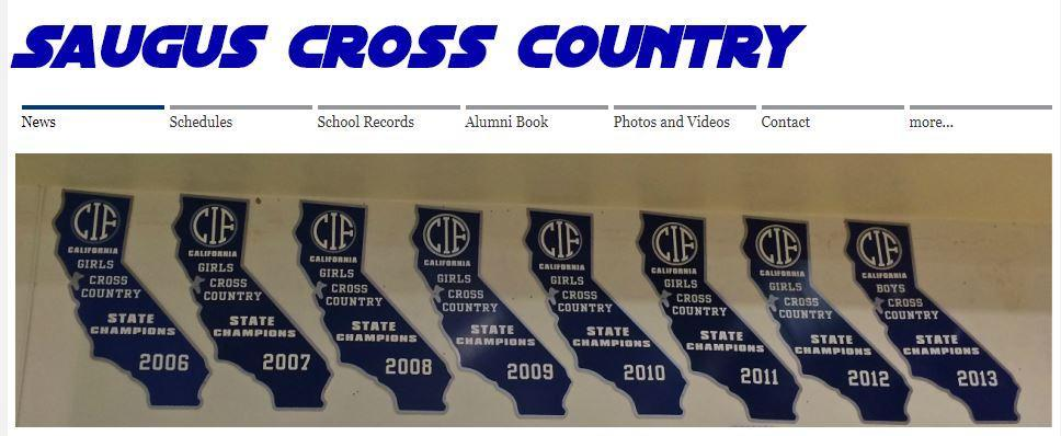 Saugus Cross Country banner image