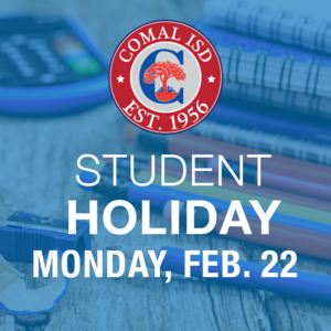 Student Holiday Feb 22