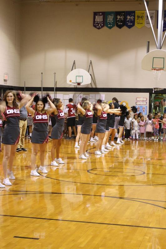 Cheerleaders for OWasso